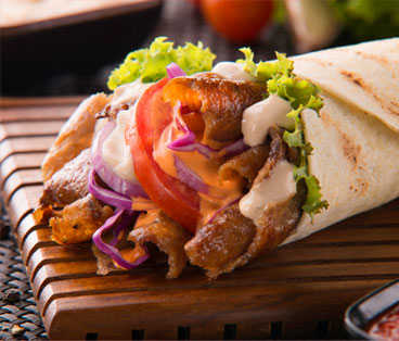 Chicken Doner Wrap